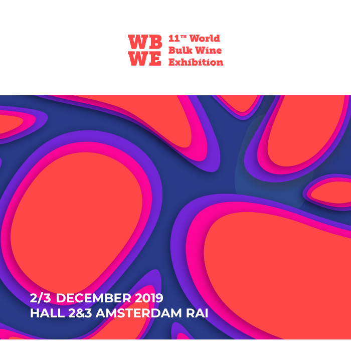 80% of the global bulk wine production will be showcased in Amsterdam on the coming 2nd and 3rd of December on the occasion of the World Bulk Wine Exhibition